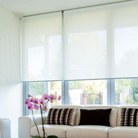 Decorex Supplier Of Wallpaper Glass Film Roller Blinds